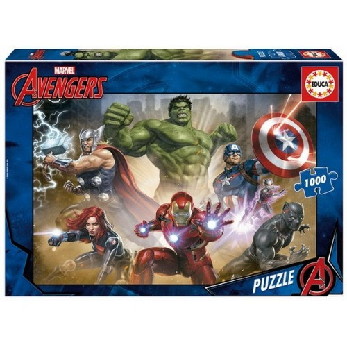 Avengers hősök, 1000 darabos Educa Puzzle