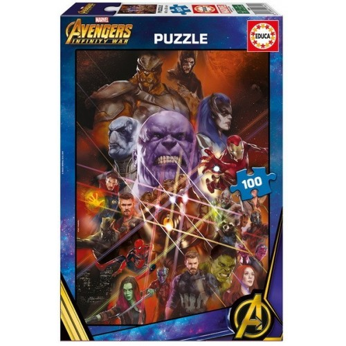 Avengers - Infinity War, Educa puzzle 100 pc