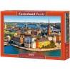 Stockholm óvárosa - Svédország, 500 darabos Castorland puzzle