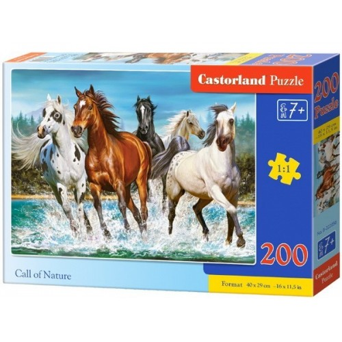 Call of Nature, Castorland Puzzle 200 pcs