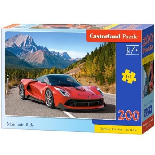Mountain Ride, Castorland Puzzle 200 pcs