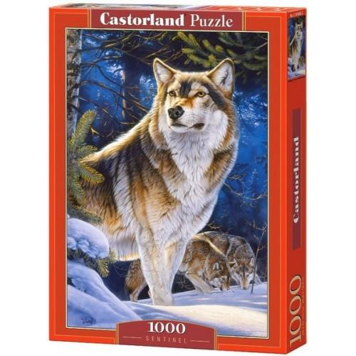 Farkas őrszem, Castorland Puzzle 1000 darabos képkirakó