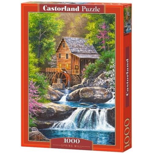 Vizimalom, Castorland Puzzle 1000 darabos képkirakó