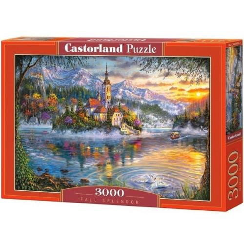 Pompázatos ősz, 3000 darabos Castorland puzzle