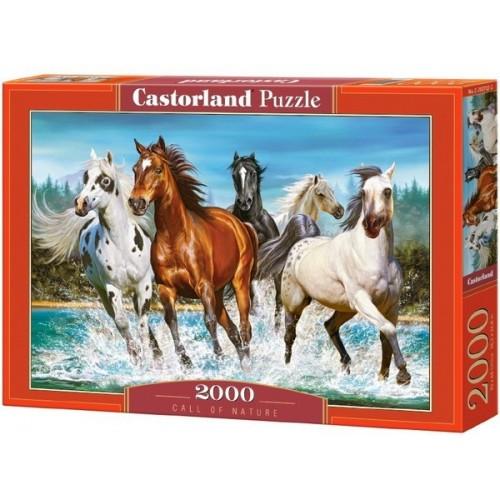 Vadlovak, 2000 darabos Castorland puzzle