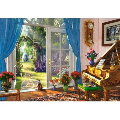 Doorway Room View, Castorland Puzzle 1000 pc