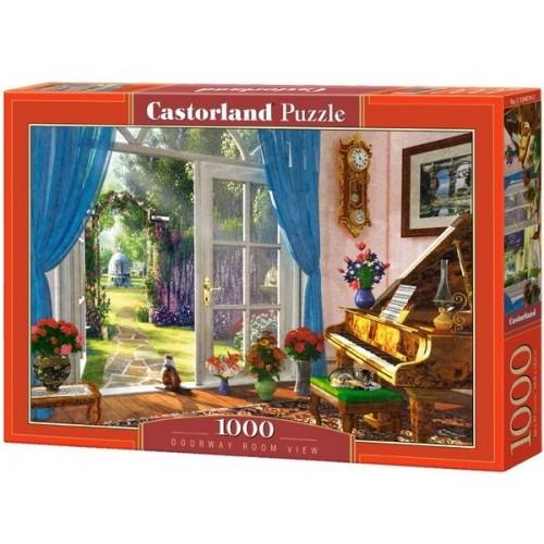 Kertre nyíló nappali, Castorland Puzzle 1000 darabos képkirakó