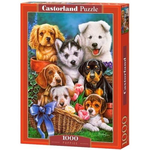 Kutya kölykök, Castorland Puzzle 1000 darabos képkirakó