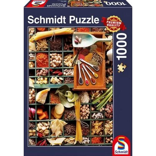 Illatozó konyha, 1000 darabos Schmidt puzzle