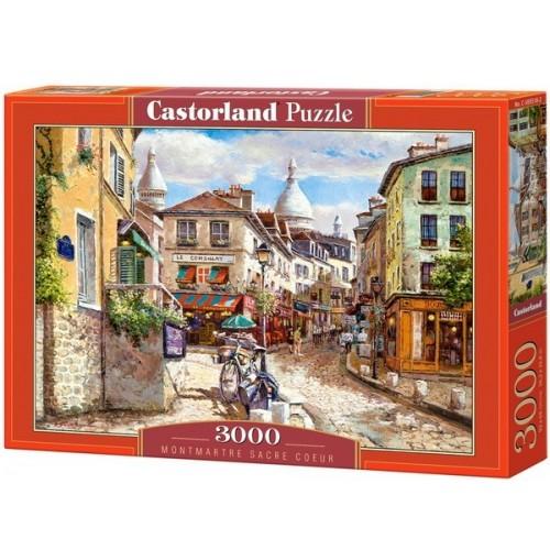 Mont Marc Sacre Coeur, 3000 darabos Castorland puzzle