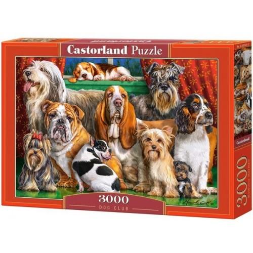 Kutyák klubja, 3000 darabos Castorland puzzle