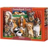Dog Club, Castorland puzzle 3000 pc