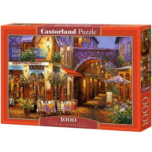 Evening in Provence, Castorland Puzzle 1000 pc