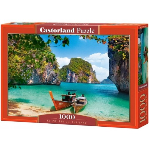 Phiphi-szigetek - Thaiföld, Castorland Puzzle 1000 darabos képkirakó