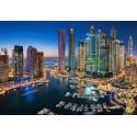 Felhőkarcolók - Dubai, 1500 darabos Castorland puzzle
