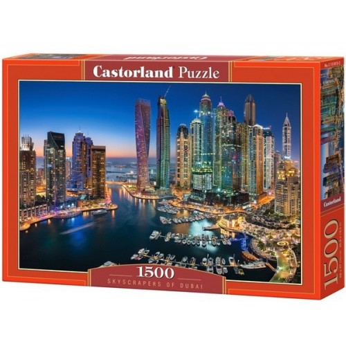 Skyscrapers of Dubai, Castorland puzzle 1500 pc