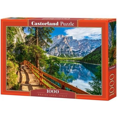 Braies-tó - Olaszország, Castorland Puzzle 1000 darabos képkirakó