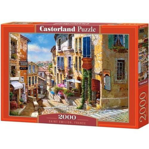 Saint Emilion - Franciaország, 2000 darabos Castorland puzzle