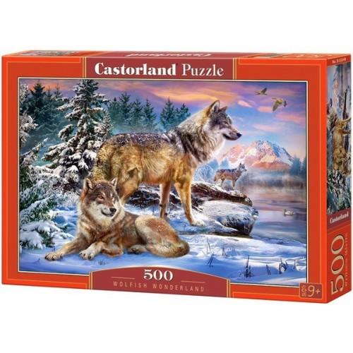 Wolfish Wonderland, Castorland Puzzle 500 pcs