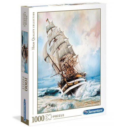 Amerigo Vespucci, 1000 darabos Clementoni puzzle