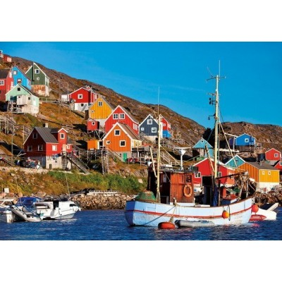 Nordic Houses, Educa Puzzle 1000 pcs