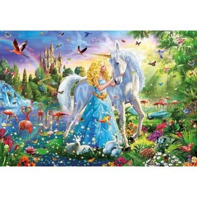 The princess and the unicorn, Educa jigsaw puzzle 1000 pc