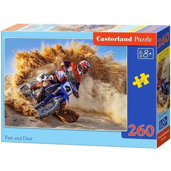 Motocross, Castorland 260 darabos puzzle