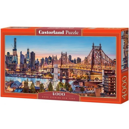 Good Evening New York, Castorland Puzzle 4000 pc