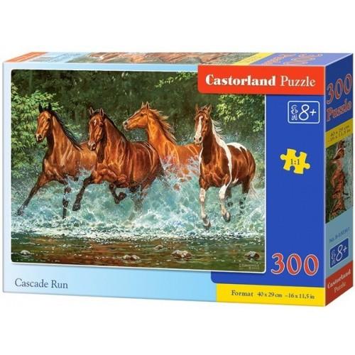 Cascade Run, Castorland Puzzle 300 pcs