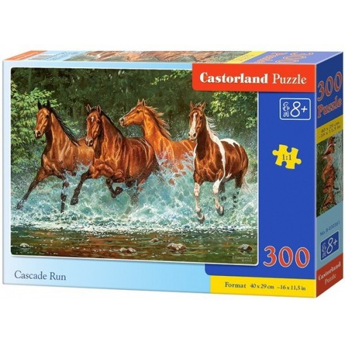Vágta a vízben, 300 darabos Castorland puzzle