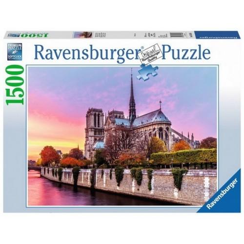 Picturesque Notre Dame, Ravensburger Jigsaw Puzzle 1500 pc