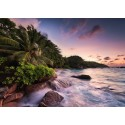 Praslin-sziget - Seychelle-szigetek, 1000 darabos Ravensburger puzzle