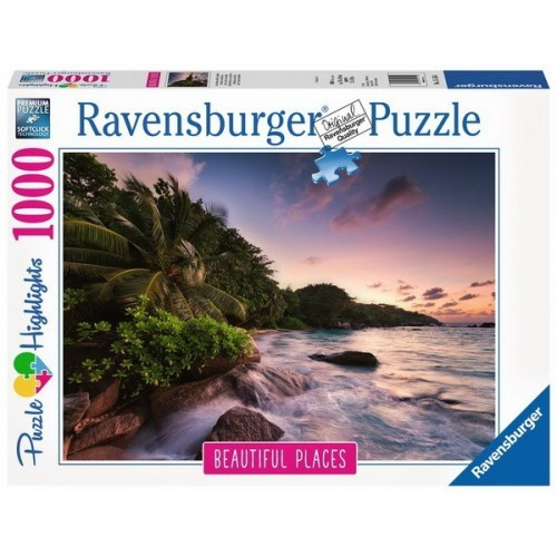 Praslin Island - Seychelles, Ravensburger Puzzle 1000 pc