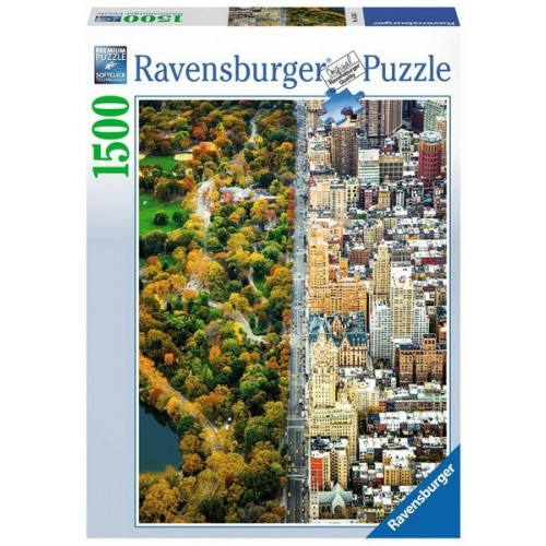 Divided Town, Ravensburger Jigsaw Puzzle 1500 pc