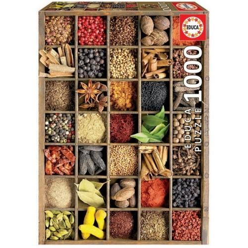 Fűszerek, Educa Puzzle 1000 db
