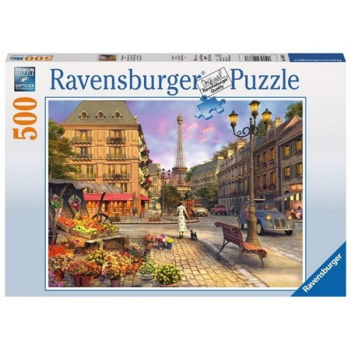 Séta Párizsban, 500 darabos Ravensburger puzzle