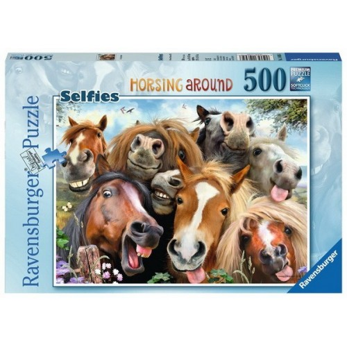 Horsing Around, Ravensburger Puzzle 500 pc