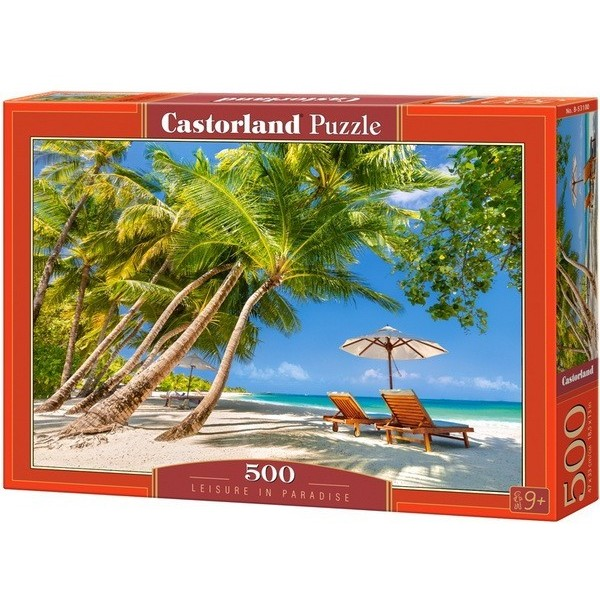 Leisure in Paradise, Castorland Puzzle 500 pcs