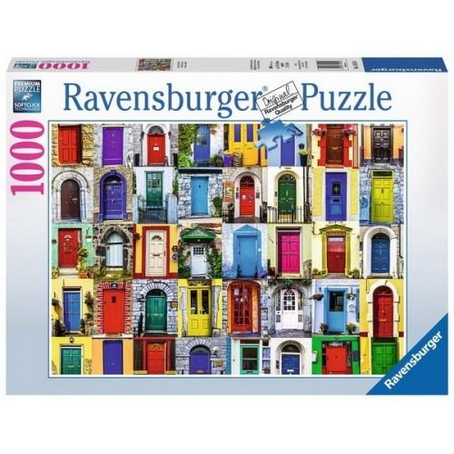 Ajtók a nagyvilágból, 1000 darabos Ravensburger puzzle