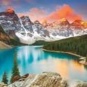 Moraine Lake - Banff National Park - Canada, Educa puzzle 1000 pcs