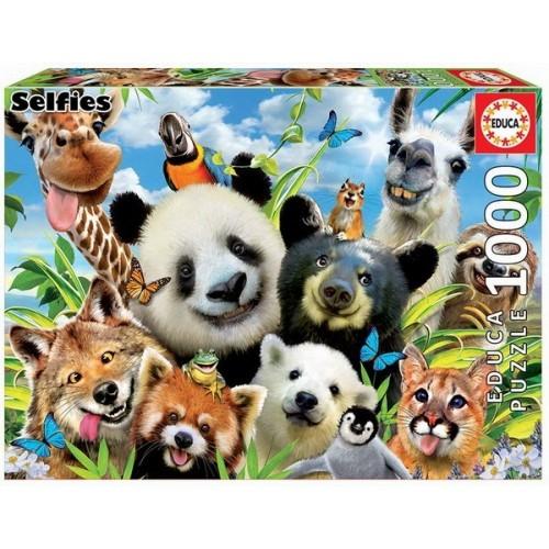 Selfie, Educa puzzle 1000 pcs