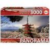 Mount Fuji and Chureito pagoda - Japan, Educa Puzzle 3000 pc