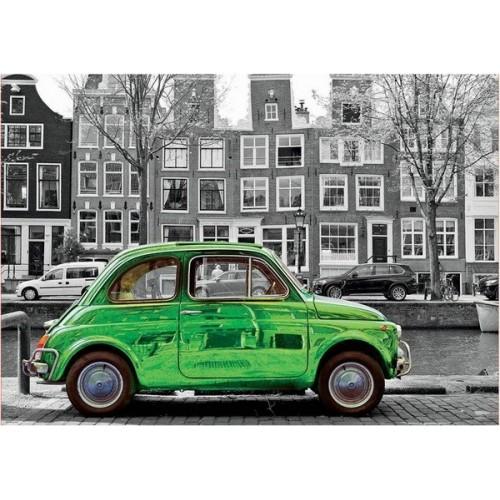 Car in Amsterdam, Educa puzzle 1000 pcs