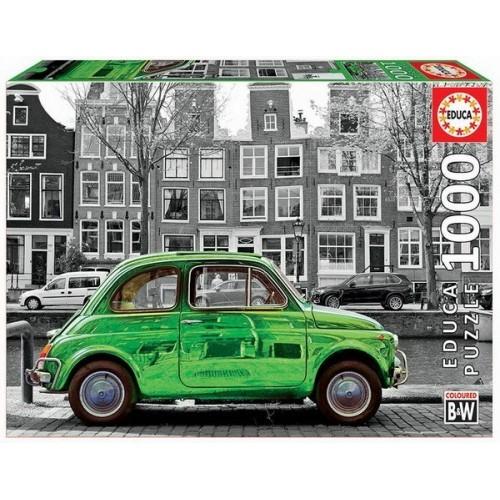 Fiat 500 Amszterdamban, 1000 darabos Educa puzzle