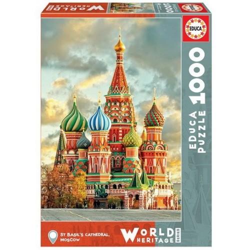 Boldog Vazul-székesegyház, 1000 darabos Educa puzzle