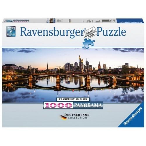 Frankfurt - Németország, 1000 darabos Ravensburger Puzzle