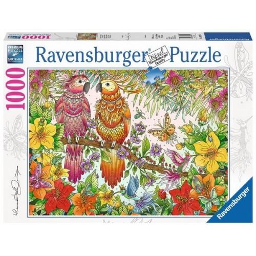 Trópusi hangulat, 1000 darabos Ravensburger puzzle