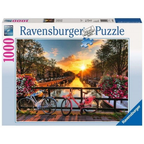 Bicycles in Amsterdam, Ravensburger Puzzle 1000 pc