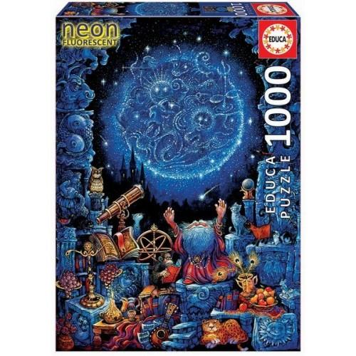 Asztrológus, 1000 darabos Educa Neon puzzle