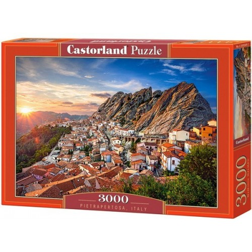 Pietrapertosa - Olaszország, Castorland puzzle 3000 db